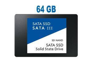 """3D NAND 1TB Internal SSD - SATA III 500 MB/s 2.5""""/7mm Solid State Drive 2.5"""" 64GB 3D NAND"""