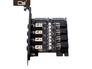 CY 4 Hard Disk Control System Intelligent Control Management System HDD SSD Power Switch with PCI Bracket PW-018