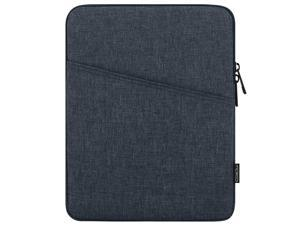 9-11 Inch Tablet Sleeve Case Fits Ipad Pro 11 2021/2020/2018, Ipad 8Th 7Th Generation 10.2, Ipad Air 4 10.9, Ipad Air 3 10.5, Ipad 9.7, Galaxy Tab A 10.1, Polyester Bag With Pocket, Space Gray