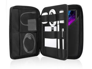 9-11 Inch Tablet Sleeve Bag Carrying Business Portfolio Case Fits Ipad Pro 11 2021/2020/2018, Ipad 8Th 7Th Generation 10.2, Ipad Air 4 10.9, Air 3 10.5, Ipad 9.7, Galaxy Tab A 10.1, Fit Keyboard