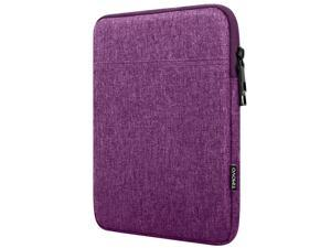 9-11 Inch Tablet Sleeve Case For 2020 Ipad Air 4 10.9, Ipad Pro 11 2018-2021, Ipad 10.2,Galaxy Tab A7 10.4,S6 Lite 2020, Surface Go 2/1 Protective Bag, Fit Apple Smart Keyboard, Purple