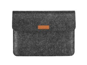9-11 Inch Felt Tablet Sleeve Case For 2020 10.9-Inch Ipad Air 4, Ipad Pro 11 2018-2021, Ipad 10.2, Galaxy Tab A7 10.4, S6 Lite 2020, Apple Smart Keyboard, Portable Pocket Bag,Dark Gray