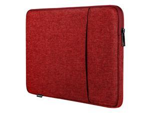 9-11 Inch Tablet Sleeve Case For 2020 Ipad Air 4 10.9, Ipad Pro 11 2018-2021, Ipad 10.2, Galaxy Tab A7 10.4, S6 Lite 2020, Surface Go 2/1, Apple Smart Keyboard, Soft Durable Pocket, Red