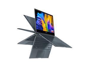 "Asus Zenbook Flip 13 Ultra Slim Convertible Laptop, 13.3"" Oled Fhd Touch Display, Intel Core I5-1135G7 Processor, Intel Iris Xe Graphics, 8Gb Ram, 512Gb Ssd, Windows 10 Home, Pine Grey, Ux363ea-Dh51t"