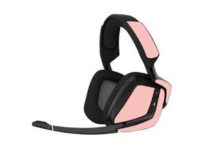 Skin Compatible With Corsair Void Pro Gaming Headset - Solid Blush   Protective, Durable, And Unique Vinyl Decal Wrap Cover   Easy To Apply, Remove, And Change Styles   Made In The Usa