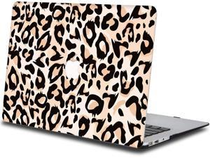 Case Compatible With Macbook Air 13 Inch 2018 2019 2020 Release, Plastic Hard Shell Cover Compatible With Macbook Air 13 Inch New (Model:A1932)-Leopard Print836