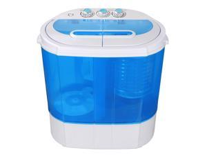 ZENY Portable Washing Machine Compact lightweight 10lbs Washer w/ Spin Cycle Dryer