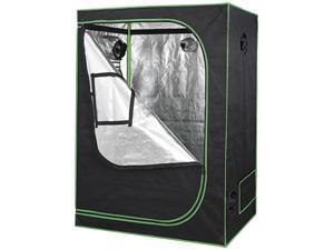 """ZENY 48""""x24""""x60"""" Grow Tent Box Seed Room with Window Indoor Bedroom Home Decor"""
