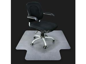 """ZENY Home Office Chair Mat PVC Home Office Floor 3mm Chair Mat W/ Lip Studded Back 36 x 48"""" Floor Mats"""