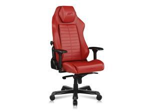 DXRacer Master Modular Gaming Chair Ergonomic Office Computer Video Game Chair with 4D Armrest & Replaceable Seat Cushion, DM1200, Red