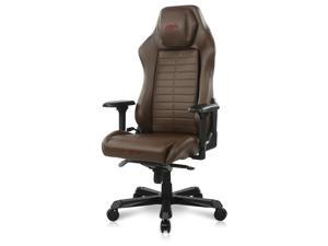 DXRacer Master Modular Gaming Chair Ergonomic Office Computer Video Game Chair with 4D Armrest & Replaceable Seat Cushion, DM1200, Brown