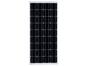 Winnewsun Solar Panel 100 watt Monocrystalline Solar Panels for Homes,RV,Off Grid, Boat, Marine, Camper