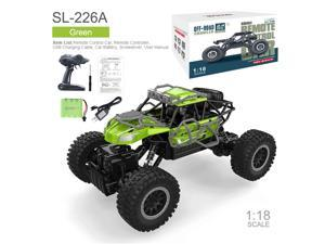2.4 GHZ 1:18 Scale RC Cars Remote Control Car High Speed RC Truck Hobby Racing Car Buggy Vehicle Skeleton Off-Road Climbing Vehicle Toy -  Xmas Gifts for Kids and Adults