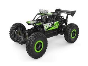 Yoizurr Remote Control Car 2.4 GHz All Terrain 15-20km/h High Speed Off-Road RC Truck, 1:14 Scale RC Cars, Ideal Xmas Gifts Remote Control Toy for Boys and Adults(Green)