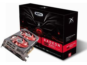 XFX Radeon RX 550 4GB DDR5 Double Dissipation RX-550P4PFG5 Graphics Card