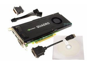 PNY NVIDIA Quadro K4000 3GB GDDR5 DVI DisplayPort HDMI Windows 10 Video Card