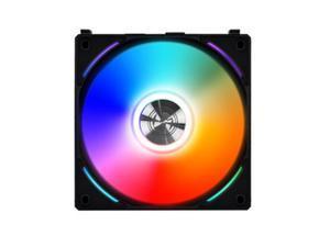 Lian Li UNI Fan AL AL120 RGB Daisy Chain ARGB 120mm UF-AL120-1B Black x1 Black 1 Pack