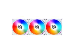 Lian Li UNI Fan AL AL120 RGB Daisy Chain ARGB 120mm UF-AL120-3W White x3