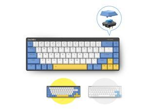 Dareu EK868 Low Profile Switch Mechanical Wireless Keyboard Bluetooth 5.1 Extra-Thin Rechargeable Gaming Keypads For 3 Devices