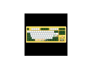 Dareu A87 Summer 87 Keys Compact Layout Mechanical Gaming Keyboard, Cherry MX Switch, PBT Keycaps