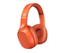 ApeSonic Tangerine : Bluetooth 5.0 Wireless Headphones, Classic tuning & Premium audio, Hi-Fi & Hi-Res Life style, over ear design, Lightweight & Comfortable to wear
