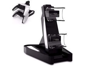 PS5 Controller Charger, Hornki Playstation 5 / PS5 Controller Charger Charging Docking Station Stand.Dual USB Fast Charging Station & LED Indicator for Sony PS5 Controller