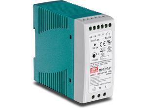 60 W Single Output Industrial DINRail Power Supply Universal AC Input Extreme 20 to 70 °C 4 to 158 °F Operating Temp TIM6024