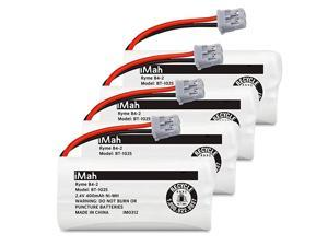 Ryme B42 BT1025 Rechargeable Battery for Uniden BT1021 BBTG0847001 Cordless Handset Pack of 4