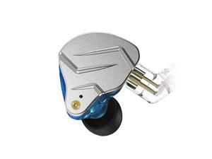 KZ ZSN PRO inEar Headphones HiFi Noiseisolating in Ear Monitor  Bass High Fidelity Earbuds Earphones with 1DD 1BA Hybrid Balanced Armature 35mm Audio Plug Detachable CableBlue no mic