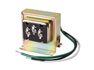 3TRAN TriVolt 8vac10VA 16vac10VA or 24vac20VA Transformer for Ring Nest and Standard Doorbells 1pk