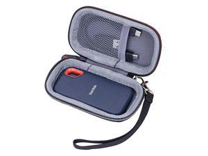 Hard Travel Carrying Case for SanDisk 250GB 500GB 1TB 2TB Extreme Portable External SSD Storage Protective Bag