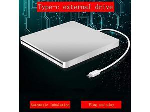 CD DVD Drive TypeC Portable Slim DVDCD ROM Player Inhaled DVD Burner With TYPEC Interface With Smart Touch Button For Mac MacBook Pro Air iMac Laptop PC Computer