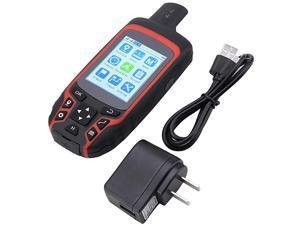 Handheld GPS A6 Handheld Navigator Outdoor Handheld GPS Navigation USB Rechargeable Hiking GPS Locator Tracker AC110V US Plug Handheld GPS Navigation