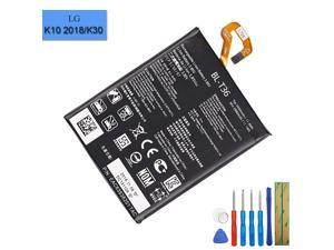 Replacement Battery BLT36 Compatible with LG K10 2018 K30 K11 2018 X410 X410AS X410E X410X with Tool