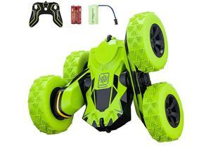 Control Car RC Stunt Car 360 Degree Flips Double Sided Rotating Tumbling High Speed 75Mph and 24GHz Control Toys for Kids Toy Cars for Boys and Girls Gifts