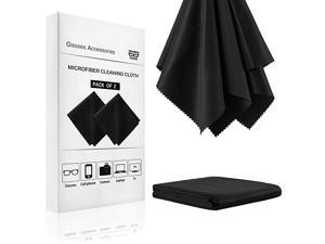 Cleaning Cloth 2 Pack 12x12 Inch Cleaning Wipes Camera Lens Computer Screen Cleaner Lint Free Cloth Cloths
