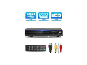 DVD Player with HDMI AV Output DVD Player for TV Contain HD with Coaxial OutputAV CableRemote ControlUSB Input Region Free Home DVD VCR Players