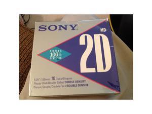 MD2DA DoubleSided Double Density 500KB 525quot Floppy Disks 10Pack