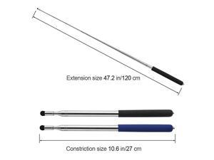 Pointer Stick Telescopic Teaching Pointer Retractable Classroom Whiteboard Pointer Extendable for Guides Coach