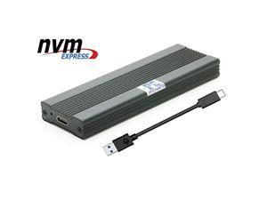USB 3.0 nVME SSD enclusure,USB 3.1 M.2(NGFF) M Key nVME SSD External Case Box