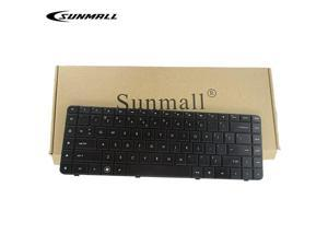 Replacement Keyboard with Ribbon Cable Compatible with HP Compaq Presario CQ62 G62 G56 CQ56 Series Compatible with Part Number 595199001 613386001 6098 Cq56100 G56100 G62340US US Layout