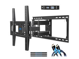 TV Mount Full Motion TV Wall Mounts for 2655 inch Some up to 65 inch LED LCD Flat Screen TV Wall Mount Bracket up to VESA 400 x 400mm 99 lbs Fits 16 18 24 Wood Studs MD238024
