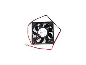 6015 Dc12v Quiet Brushless Cooling Fan Miniature Cooling Fans 2pin 60x60X15mm 9 Blade (3 PCS)