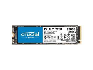 P2 250GB 3D NAND NVMe PCIe M2 SSD Up to 2400MBs CT250P2SSD8