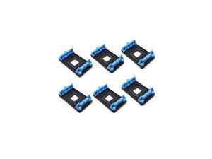 6Pack Plastic AMD CPU Fan Bracket Base for AM2 AM2+ AM3 AM3+ FM1 FM2 Socket Blue