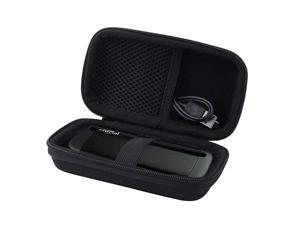 Hard Carrying Case Case Compatible for Crucial 1TB500GB X8 Portable SSD Carrying