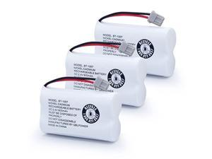 BT-1007 Rechargeable Cordless Telephone Batteries BT1007 BBTY0651101 BT904 BT-904 BT1015 BBTY0460001 BBTY0700001 HHR-P506 HHR-P506A (2 Pack)