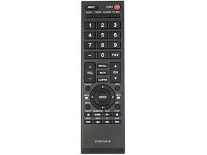CTRC1US16 Remote Control Replacement for Toshiba TV 28L110U 32L110U 32L220U 40L310U 43L310U 43L420U 49L310U 49L420U 55L310U 65L350U 19AV600 19C100U 24L4200 26C10