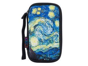 Starry Universal Portable USB Flash Drive Case BagElectronic Accessories Travel Organizer CaseCable Organizer Electronics Accessories Case USB02