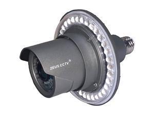 WiFi Floodlight Bulb Camera Home Security System Wireless Outdoor Waterproof Remote Control Camera Night Vision 1080p E26 LED Floodlight Cam 16GB Single Camera Model